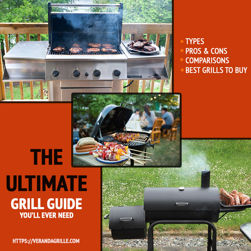 ULTIMATE grill guide types pros cons comparisons