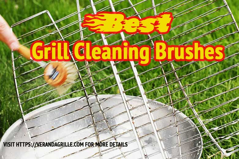 best grill cleaning brush brass|stainless steel
